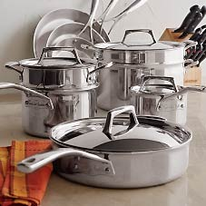 Cw tri ply stainless cookware sale