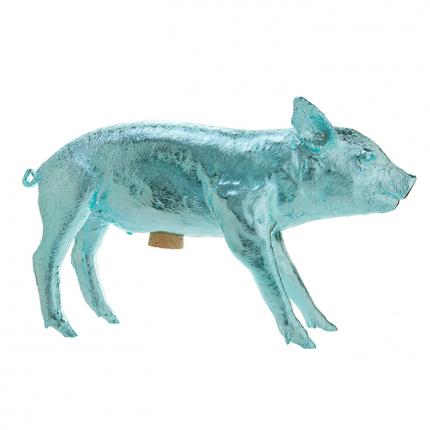 Areaware chrome blue pig harpbl silo print 01